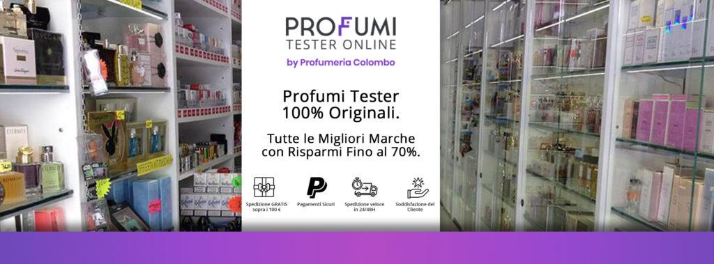 Tester e Profumi Online delle Migliori Marche con Sconti Fino al 70%.